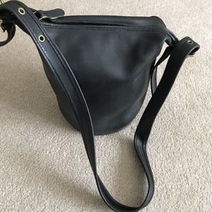 Coach Black Original Small Bucket Bag